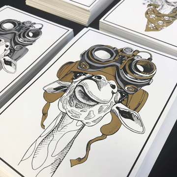 Open House 2018 - Metallic Ink