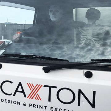 Halloween at Caxton - Caxton Deliveries