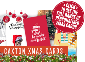 Personalised Xmas Cards